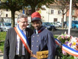 Un de nos jeunes félicité de son implication par le Maire de La Côte Saint-André