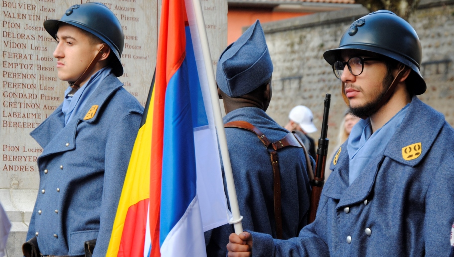 Porteurs de drapeaux