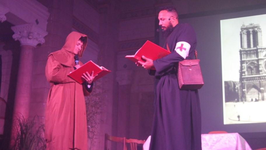 Le père Brottier et son supèrieur